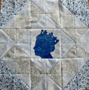 Crown quilt block